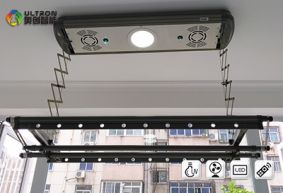 model E-Q6 electric clothes airer installed on all kind of ceiling