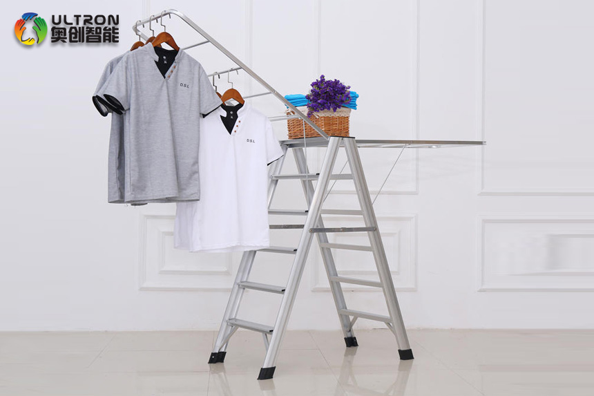 foldable clothes drying rack with wings
