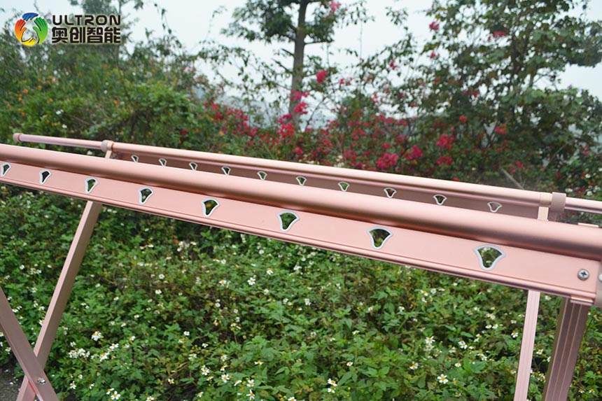 Rose Gold clothes drying rack