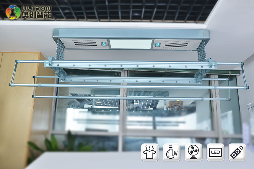 electric hanging clothes dryers with disinfection and air drying