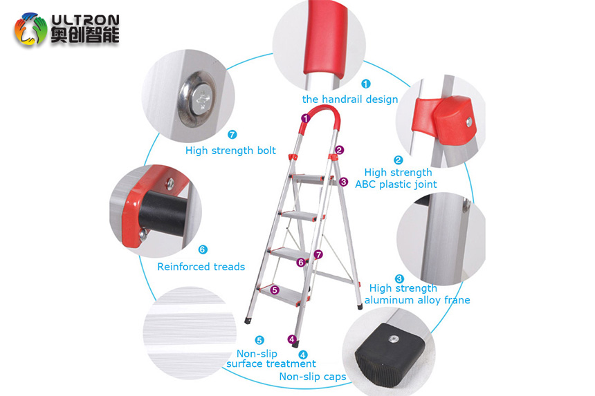 safe and stable step ladder