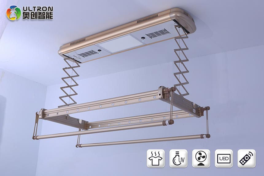 ceiling electric clothes dryer