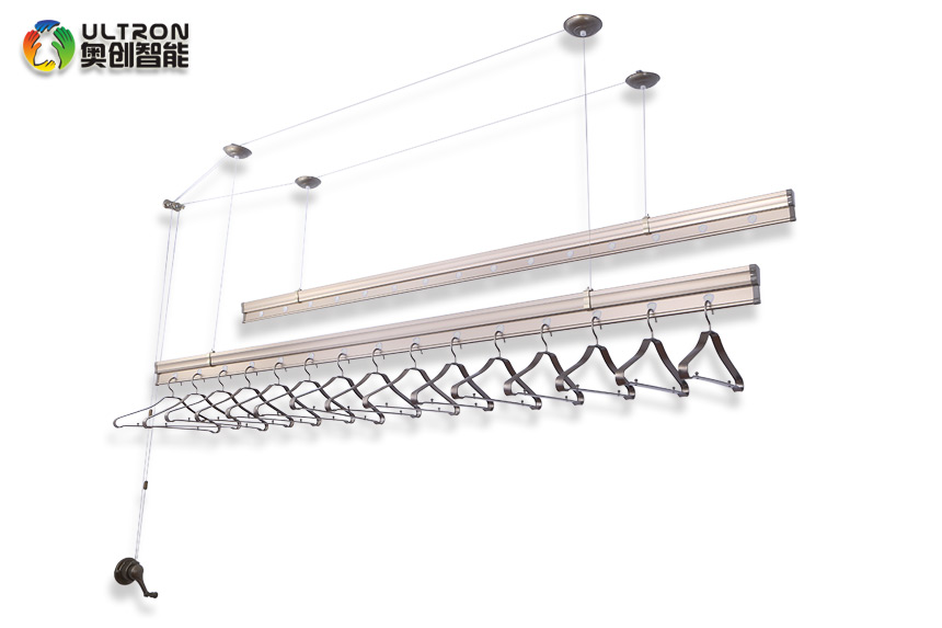 manual type clothes drying rack
