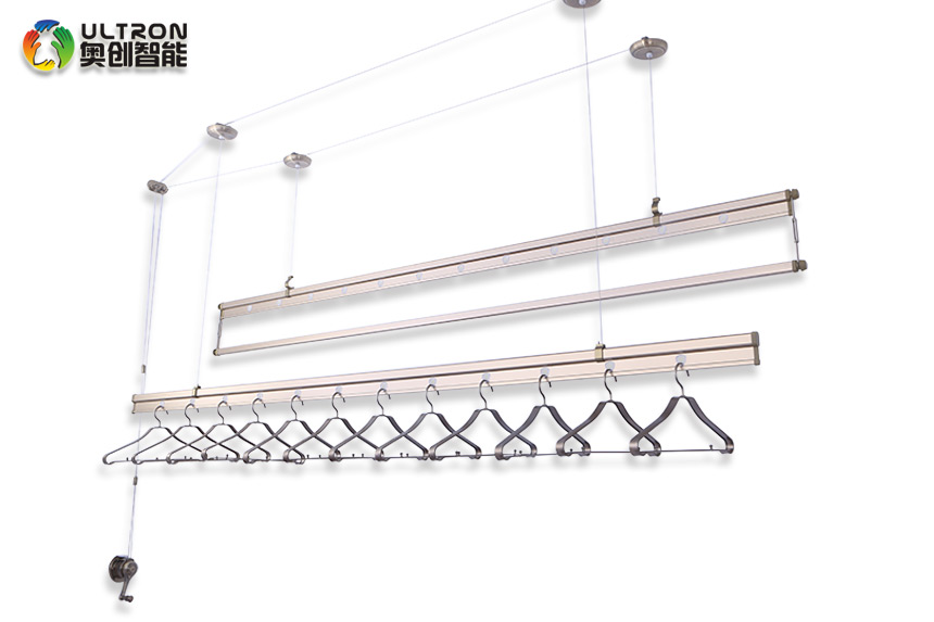 pulley clothes drying rack